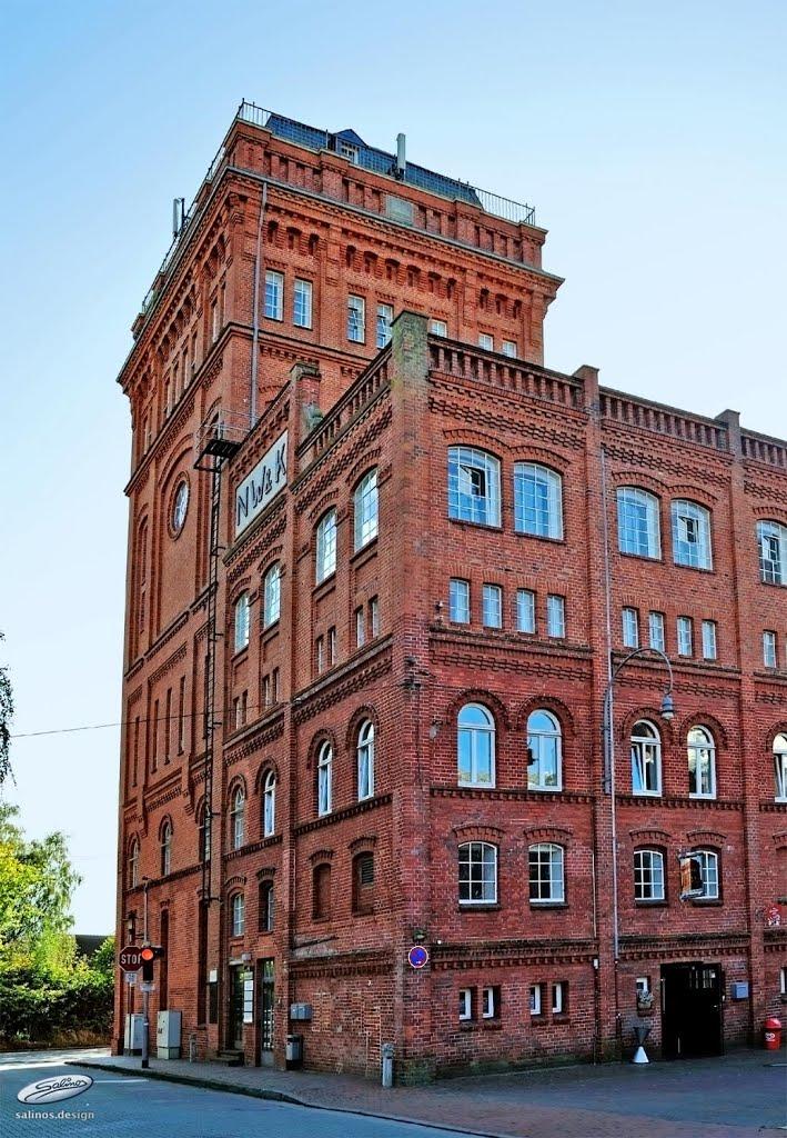 Nordwolle Delmenhorst – Industriedenkmal und Kulturzentrum - (C) by Salinos_de NI, Дельменхорст