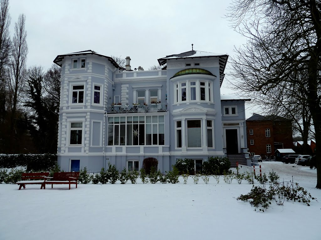 Nordwolle - Lahusen-Villa, Дельменхорст