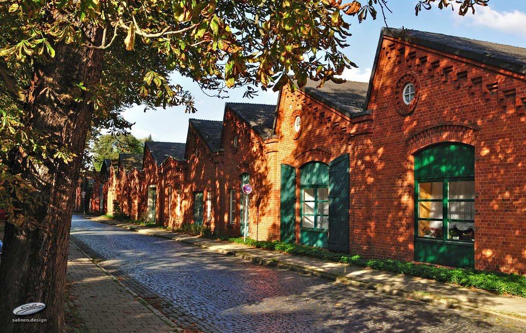 Wohnungen am Fabrikhof, Nordwolle Kulturzentrum, Delmenhorst - (C) by Salinos_de NI, Дельменхорст