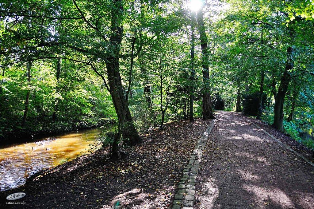 Parkanlage, Nordwolle, Delmenhorst - (C) by Salinos_de NI, Дельменхорст