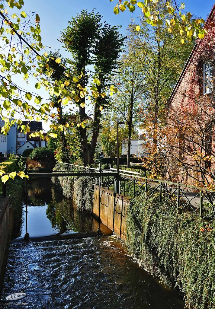 Wasserlauf, Schulstraße, Delmenhorst - (C) by Salinos_de NI, Дельменхорст