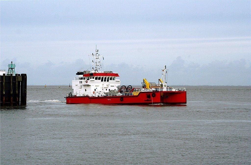 """Ölbekämpfungsschiff """"KNECHTSAND"""" Cuxhaven, Куксхавен"""