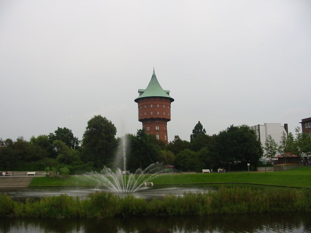 Cuxhaven,Wasserturm von Deichstraße, Куксхавен