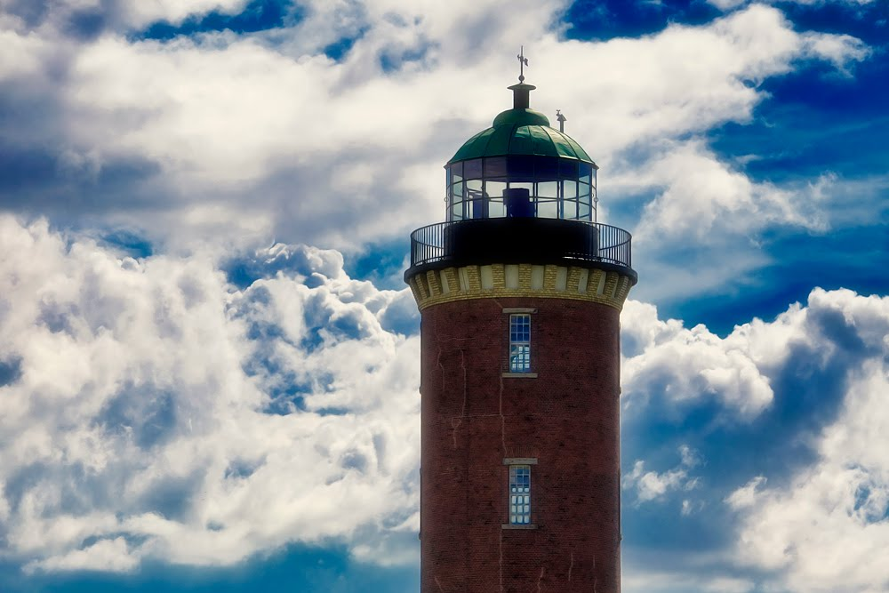 """""""Hamburger Lighthouse"""" in Cuxhaven, Куксхавен"""
