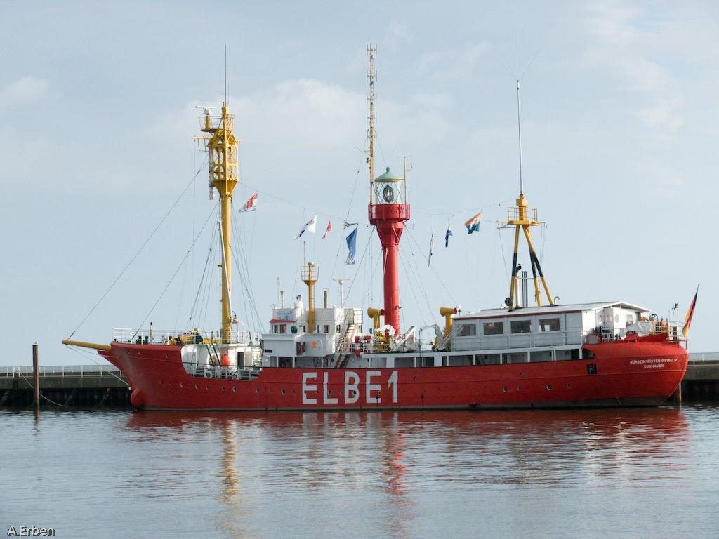 und wieder Elbe 1 / September 2007, Куксхавен
