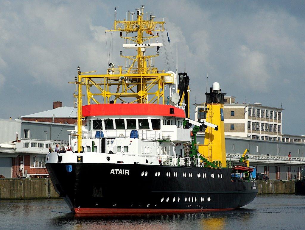 """Wracksuchschiff """"ATAIR"""", Куксхавен"""