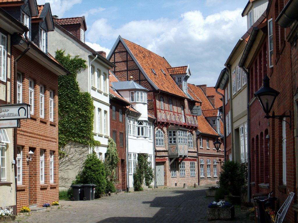 Altstadt - Obere Ohlingerstrasse, Лунебург