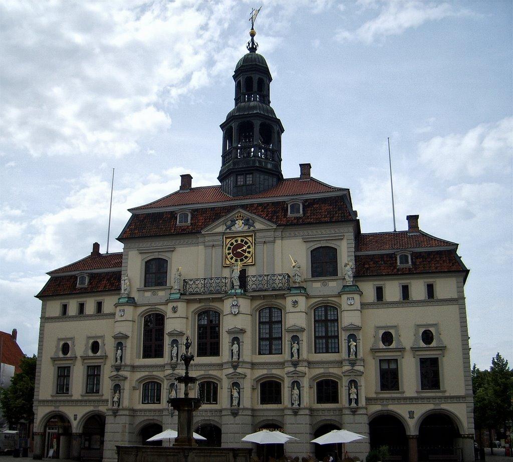 Lüneburger Rathaus, Лунебург