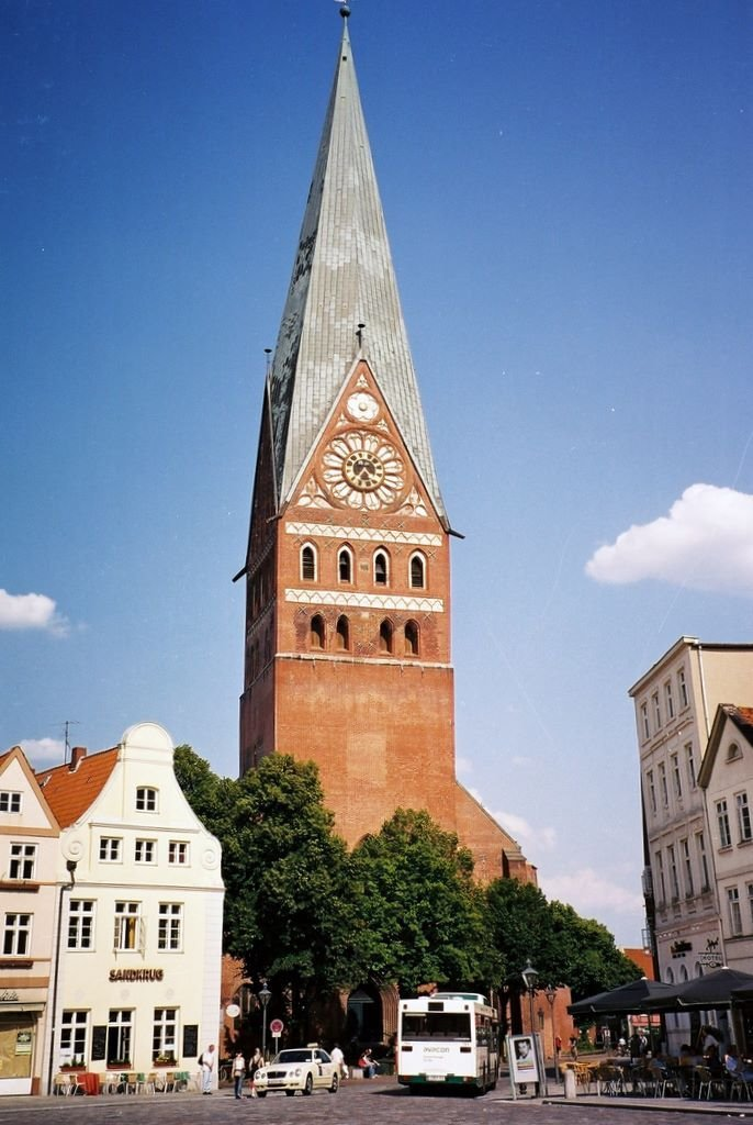 ALEMANIA Iglesia de Johanes, Luneburg, Лунебург