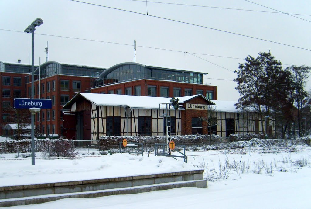 Altes Bahnbetriebswerk Lüneburg / Old train depot Lüneburg, Лунебург