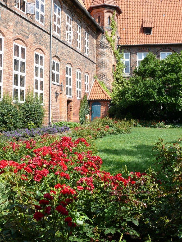 Lüneburg Rathaus Innenhof, Лунебург