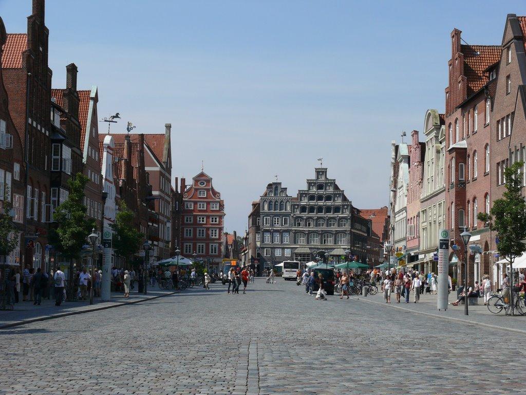 Lüneburg Am Sande -welch schöner Platz-, Лунебург