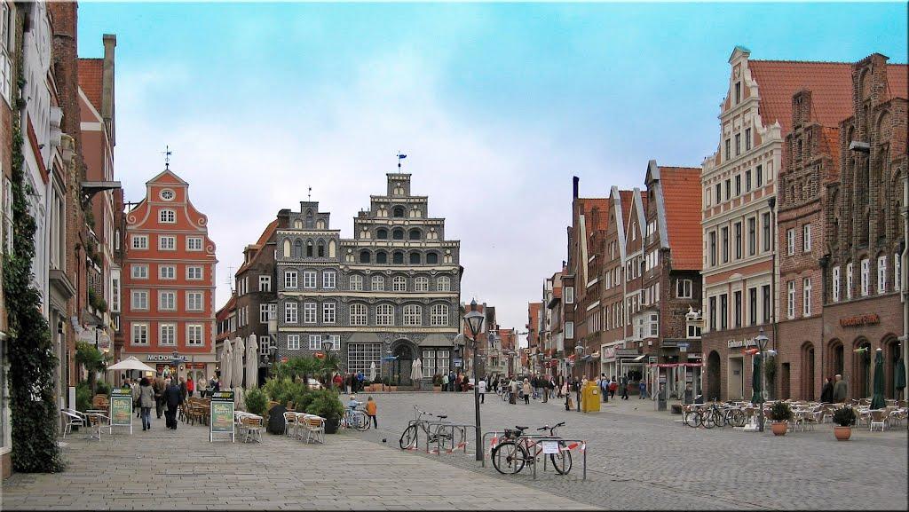 Lüneburg, am Sande, Лунебург