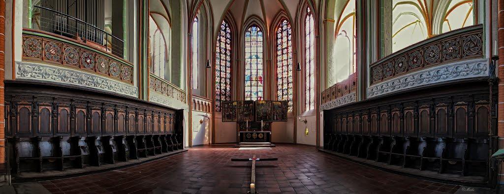 St. Johannis Kirche Lüneburg, built 1289, Лунебург