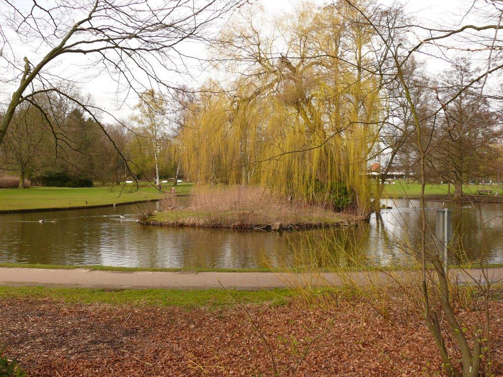 """Kurparksee im """"erwachenden Frühling"""", Лунебург"""