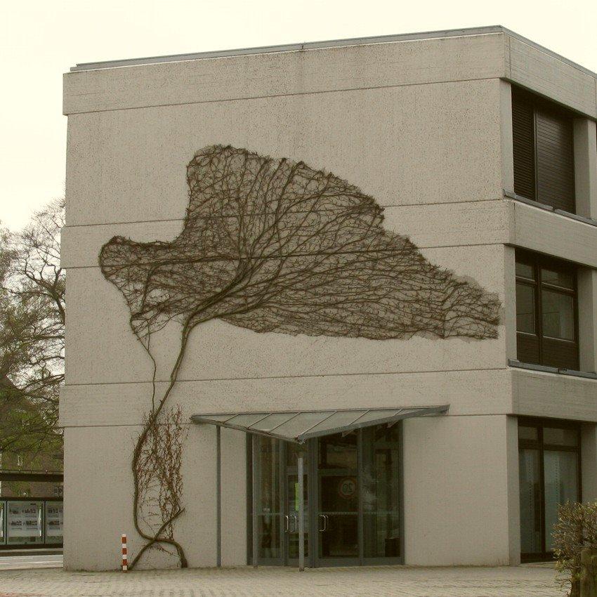 Moderne Skulptur am Haus, Нордхорн