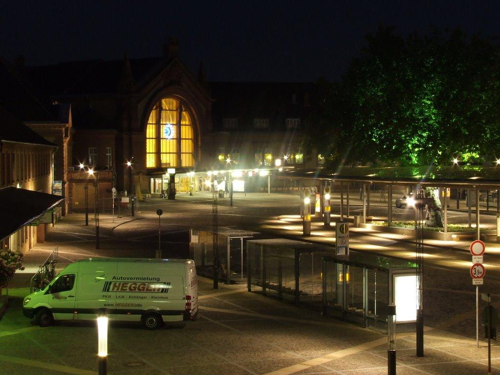 Osnabrück Hbf. Vorplatz Mai 2007, Оснабрюк
