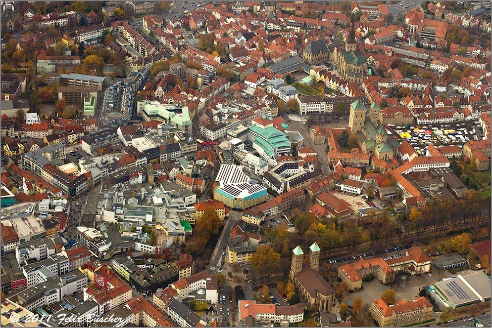 Markttag in Osnabrück, Оснабрюк