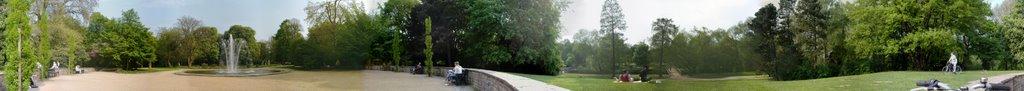 Ehemaliger Eingang zur dannebaumschen Villa heute Park Löbeckes Garten, Брауншвейг