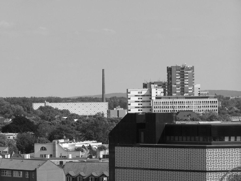 Hochhäuser am neuen Bahnhof, Брауншвейг