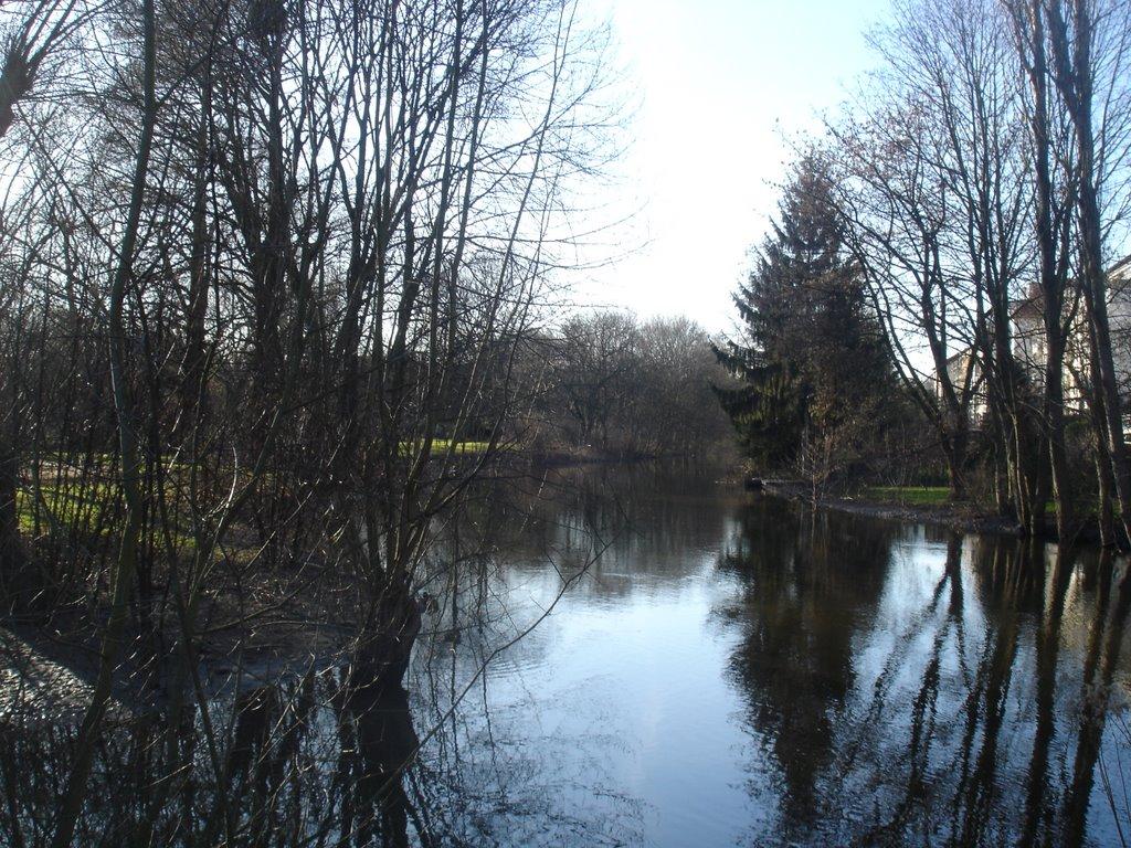 Braunschweig, Östl. Umflutgraben zwischen Inselwall und Bammelsburger, Брауншвейг