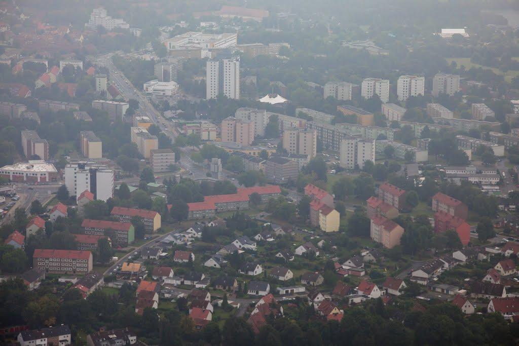 Luftaufnahme | Salzgitter City | Innenstadt | Kattowitzer Straße, Salzgitter