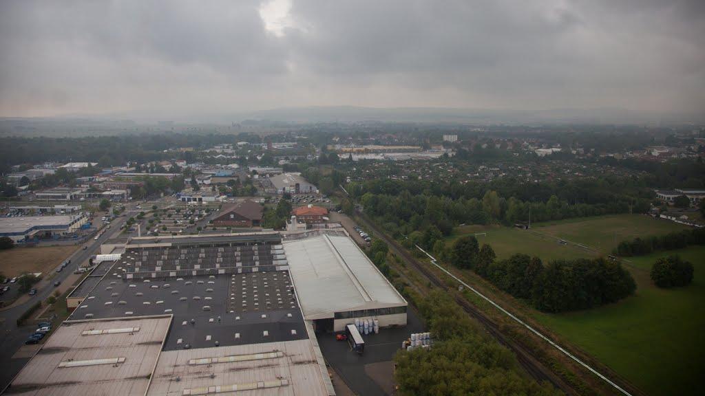 Luftaufnahme | Industriegebiet Salzgitter Engelnstedt, Salzgitter