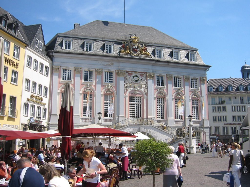 Bonn, Historic Town Hall (Altes Rathaus) - Markt, Бонн