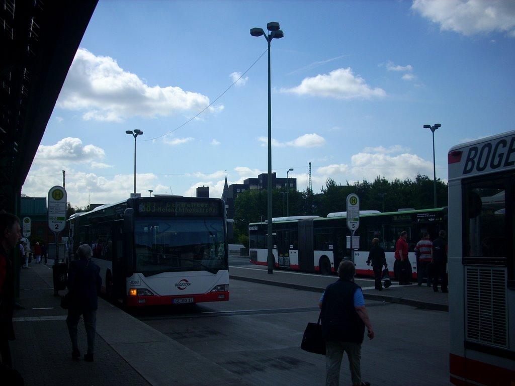 Gelsenkirchen Busbahnhof 2008, Гельзенкирхен