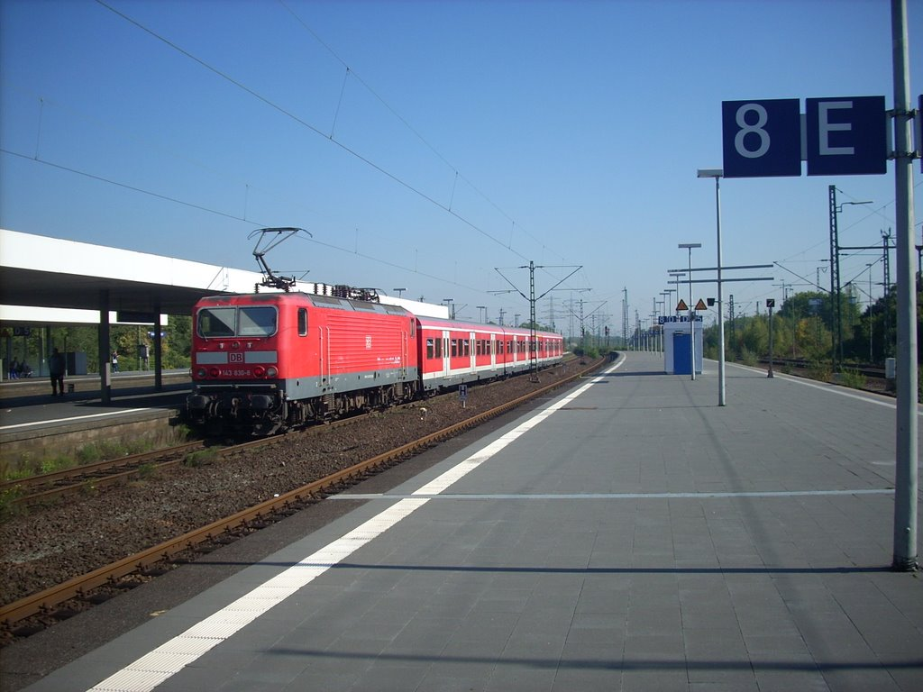 Gelsenkirchen Hbf Gleis8 S2 2008, Гельзенкирхен