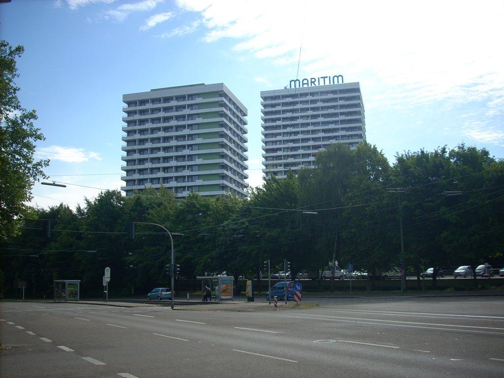 Gelsenkirchen-Altstadt ( Maritim Hotel ) Feldmarkstr.  Juni 2009, Гельзенкирхен