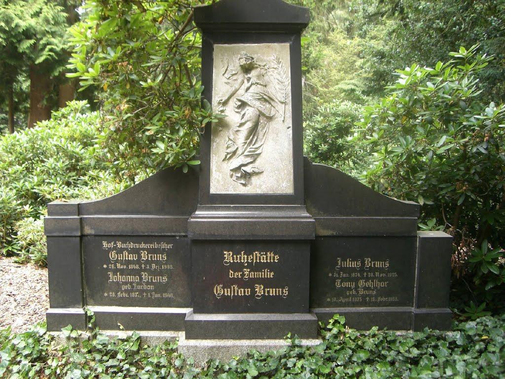 фото Minden Die Alte Bekannte Mindener Familie Gustav Bruns