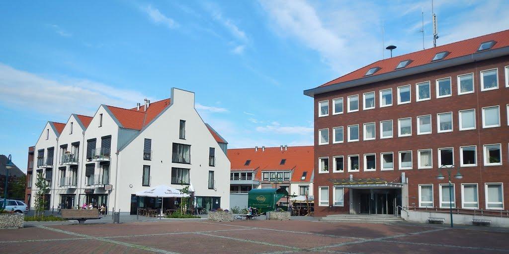 Marktplatz in Ennigerloh, Ауе