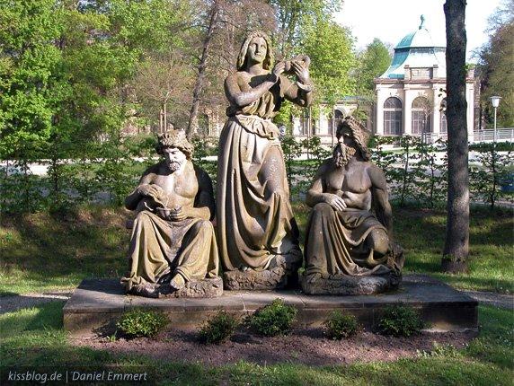 "Denkmal ""Hygeia mit Rákóczi und Pandur"", Бад Киссинген"