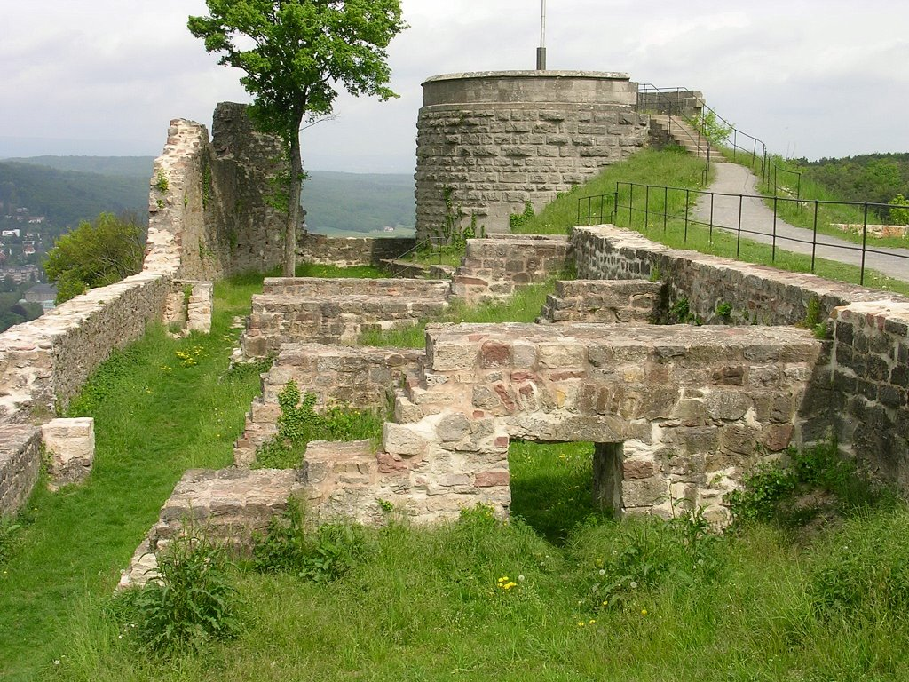 Bodenlaube castle, Бад Киссинген