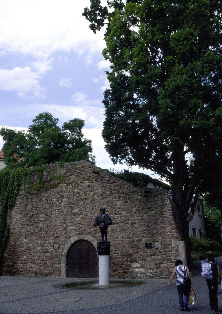 Stadtmauer und Heil Denkmal, Бад Киссинген