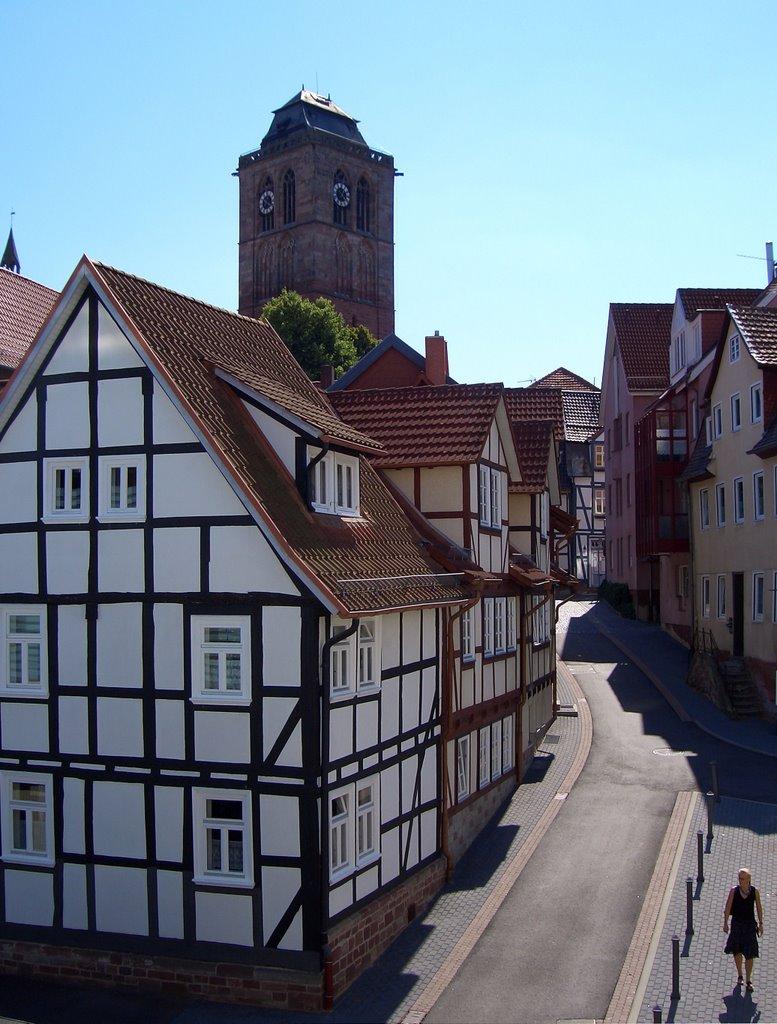 Bad Hersfeld - Altstadt, Бад Херсфельд