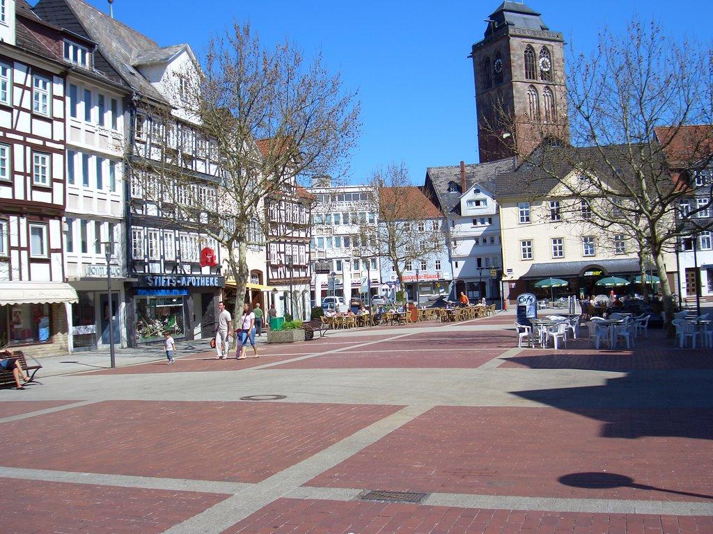 Bad Hersfeld, Linggplatz, Stadtkirche, Бад Херсфельд
