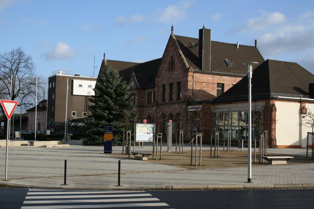 Bad Hersfeld - Neuer Bahnhofsvorplatz, Бад Херсфельд