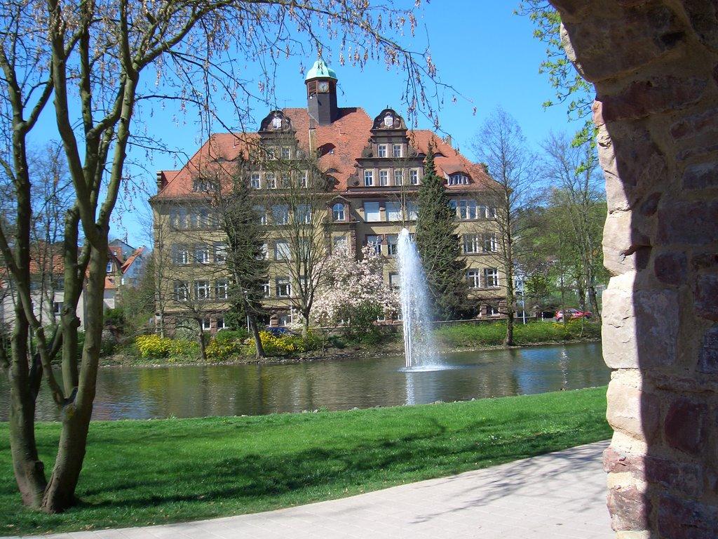 Bad Hersfeld, ehem. Nordschule - durch Stadtmauer, Бад Херсфельд