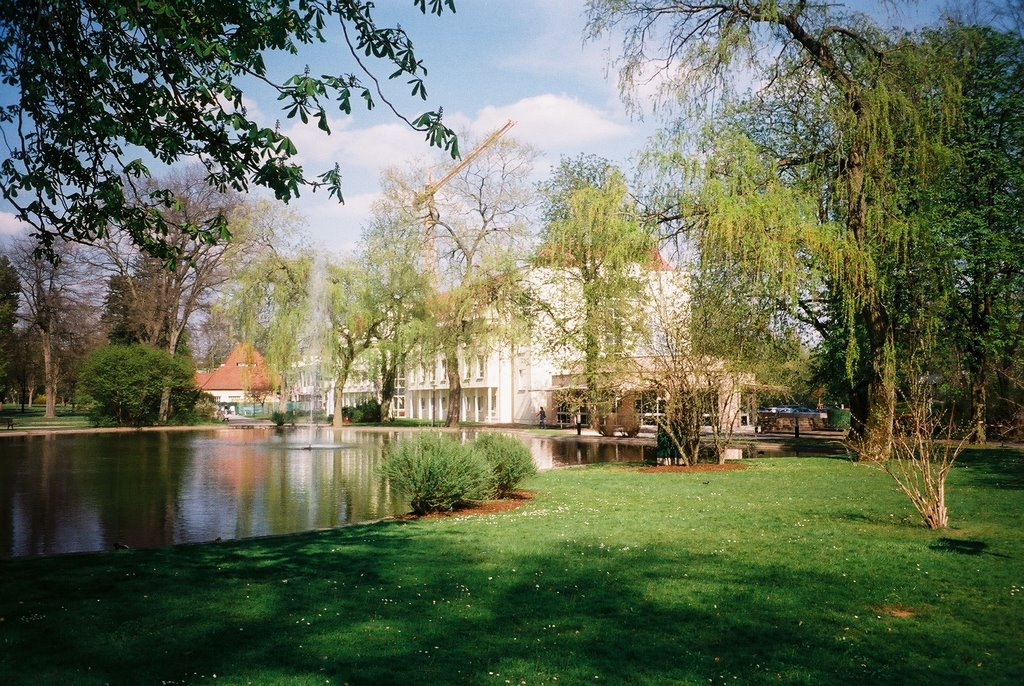 Bad Hersfeld, Kurpark, Бад Херсфельд