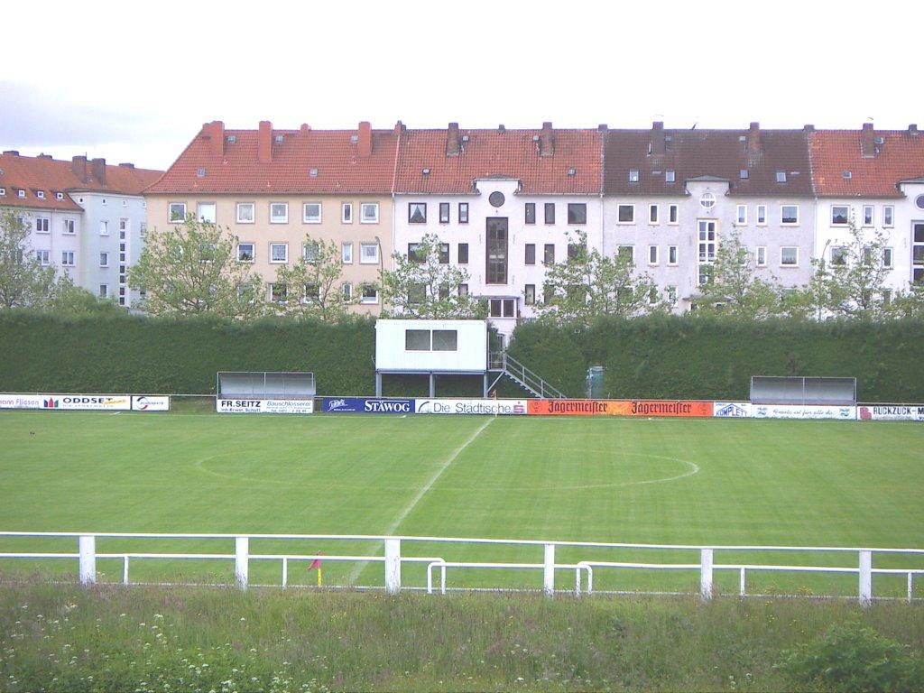 Bremerhaven-Lehe - Zollinlandplatz - Spielstätte des FC Bremerhaven, Бремерхафен