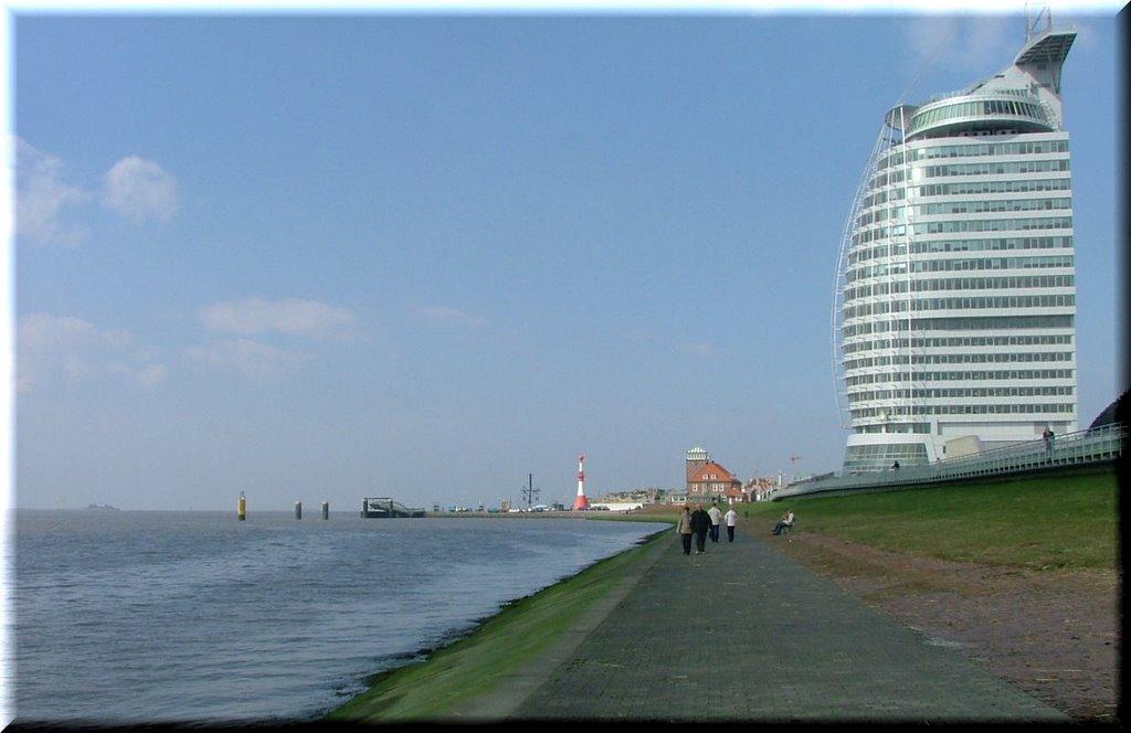 Entlang der Weser, Бремерхафен