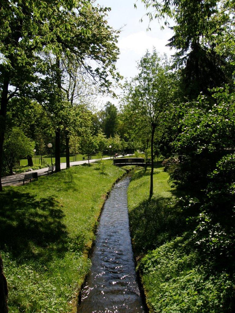 Městský park Weiden (Town park), Вайден