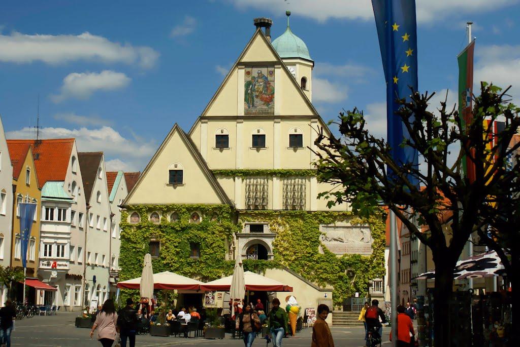 Alt Rathaus und Oberer Markt - Weiden in der Oberpfalz, Вайден