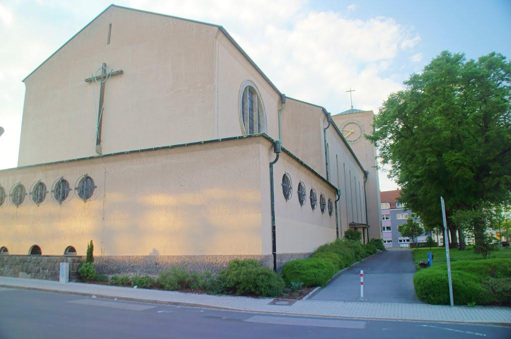 Pfarramt Herz Jesu Kirche in Weiden, Вайден