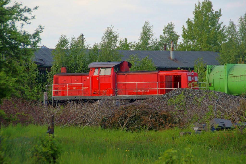 Ferngesteuerte Dieselrangierlokomotive (Remote-controlled diesel shunting locomotive), Вайден