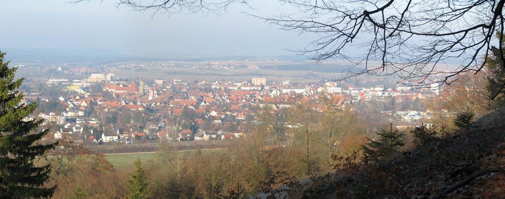 Weißenburg von der Jakobsruhe, Вайсенбург