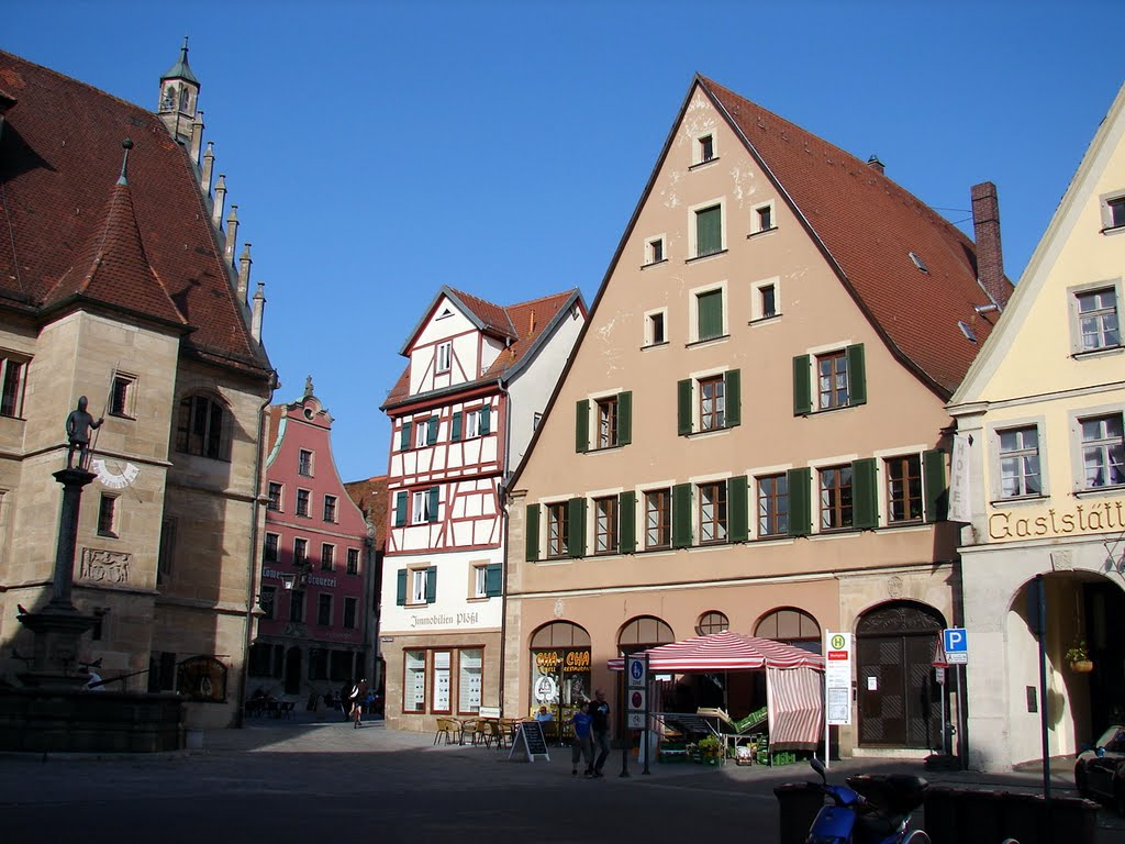 Marktplatz, Вайсенбург