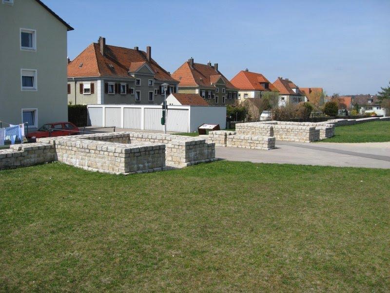 Römisches Kastell Biriciana - Westtor (Porta principalis dextra, 04/2009), Вайсенбург